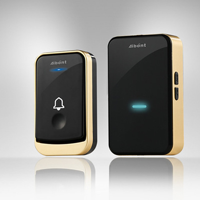 Q192-BG mart Wireless Doorbell 45 Songs Ringtones & 200m Transmission Music DoorBell