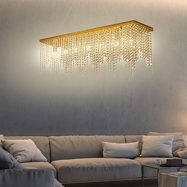 80 cm Single Design Chandelier Chandelier Gold Pendant Light Gold Luxurious Modern Sumptuous Metal Modern 110-120V 220-240V