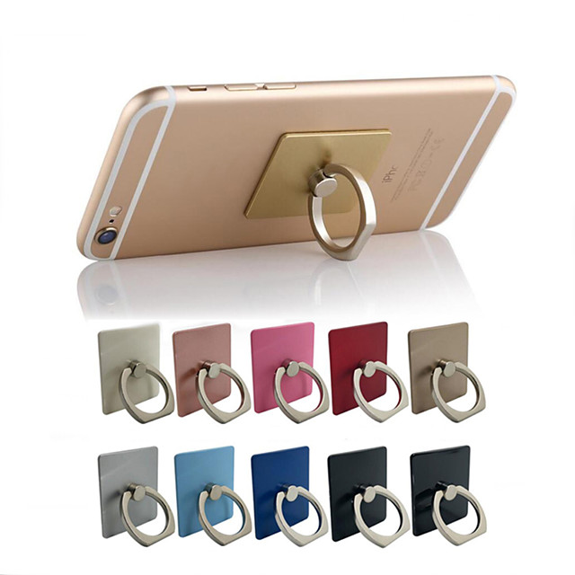 10PCS Finger Ring Mobile Phone Holder Stand for Phones Grip Support Accessories Cell Mount Mixed Colors