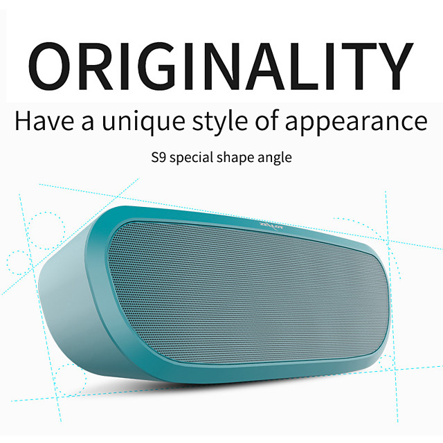 ZEALOT S9 Wireless Outdoor portable Bluetooth Speaker heavy bass Loudspeaker Subwoofer Soundbar 3D Stereo Speaker Music Center