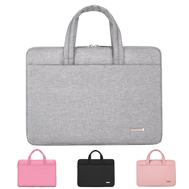 11.6 Inch Laptop / 12 Inch Laptop / 13.3 Inch Laptop Sleeve / Briefcase Handbags / Tablet Cases Oxford Fabric Textured / Plain for Men for Women for Business Office Waterpoof Shock Proof
