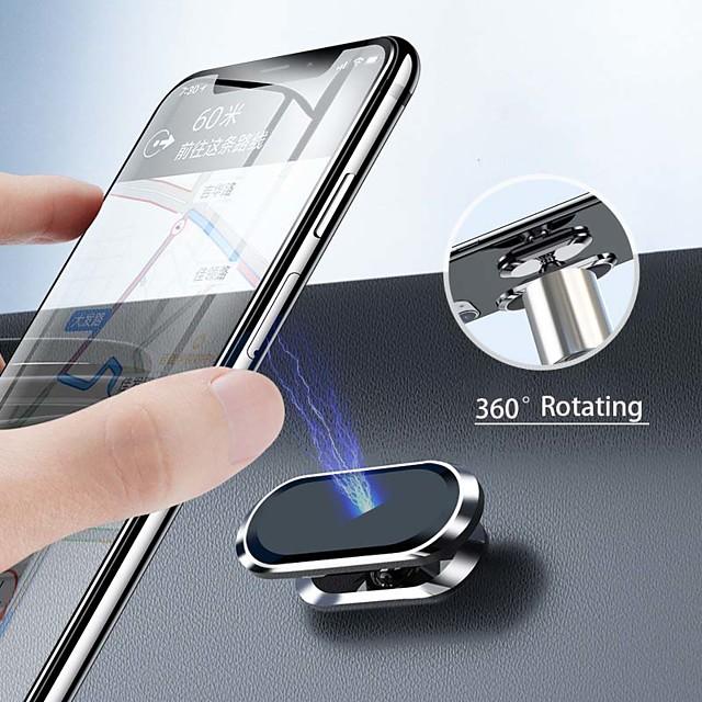 Car Mount Stand Holder Dashboard / 360° Rotation Magnetic Type / Adjustable / 360°Rotation Aluminum Alloy Holder
