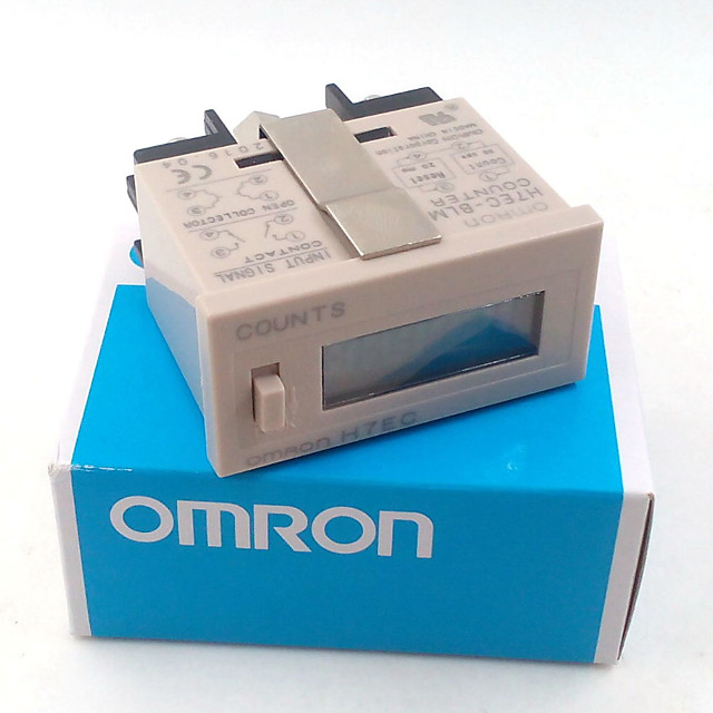 Omron H7EC-6 Electronic punch industrial counter vending machine digital counter counts when tired NO voltag with battery