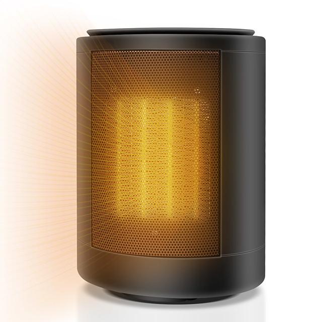 Heater NF1500W Aluminium Alloy Black