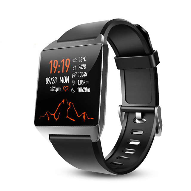 Timethinker W2 Smart Watch Bracelet Fitness Tracker Music Control Smartwatch AGPS Pedometer Blood Pressure Heart Rate Monitor