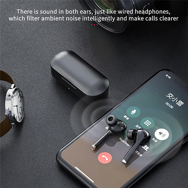 LITBest TW12 Wireless Earbuds TWS Headphones Bluetooth5.0 with Microphone with Charging Box for Travel Entertainment