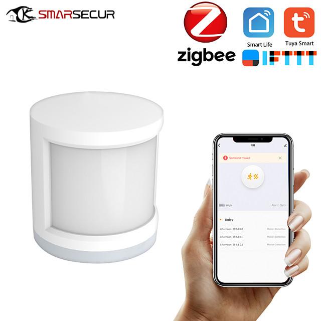 Mini Zigbee Motion PIR Sensor Detector WIFI Movement Sensor Smart Life APP Wireless Home Security System