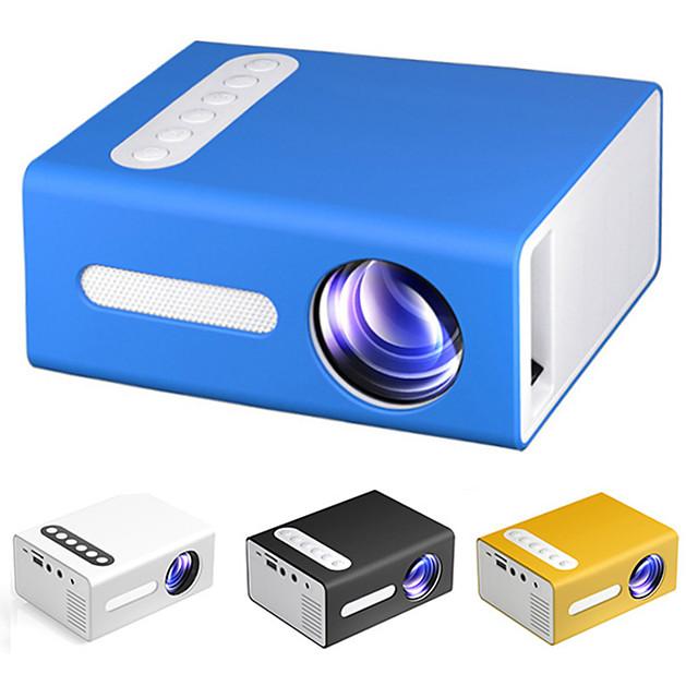 t300 led mini proiettore supporto 1080p video proiettore hdmi usb av proiettore portatile home media audio player vs yg300 beamer