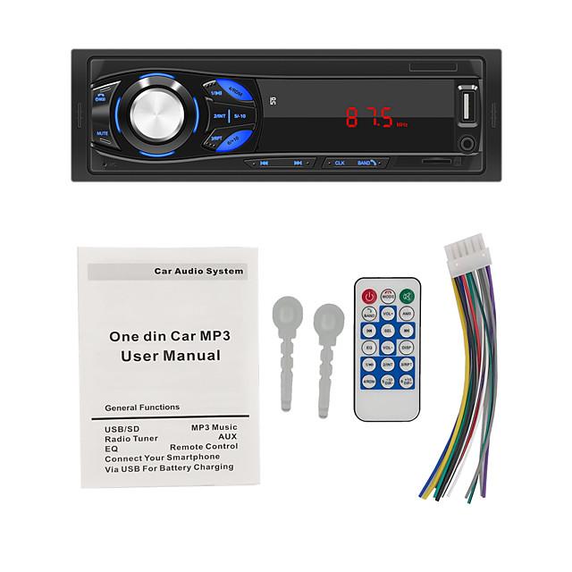 1DIN In-Dash Car Radio Stereo Remote Control Digital Bluetooth Audio Music Stereo 12V Car Radio MP3 Player USB/SD/AUX-IN