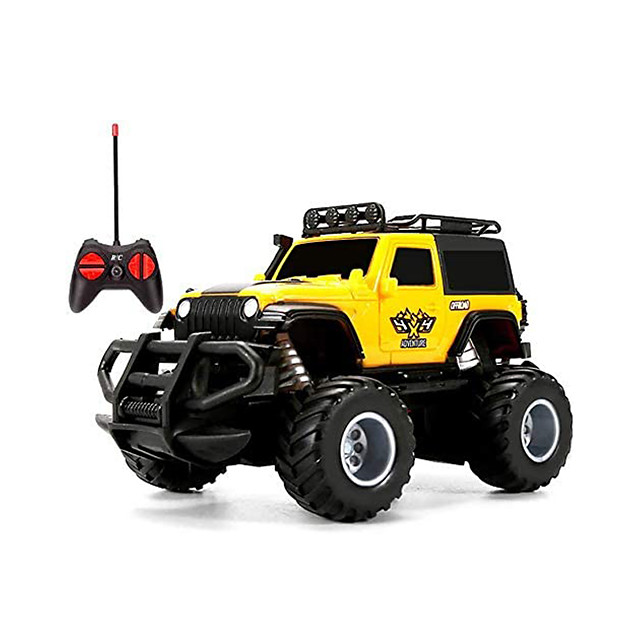 RC Car QQ168PB004 Buggy (Off-road) / Monster Truck Titanfoot / Racing Car 1:43 Rechargeable / Remote Control / RC