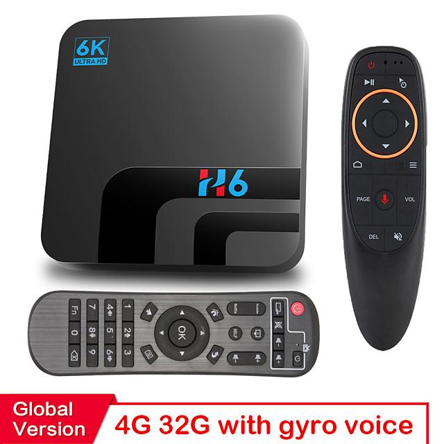 2GB+16GB HONGTOP H6 TV Box H616 Smart TV Box Android 10 16GB 6K HD Youtube Media player Netflix TV 2.4G&5G WIFI Set top box