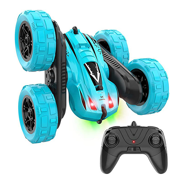 RC Car 2.4G Buggy (Off-road) / Monster Truck Titanfoot / Stunt Car 15 km/h Rechargeable / Remote Control / RC / Double Sided Rotating