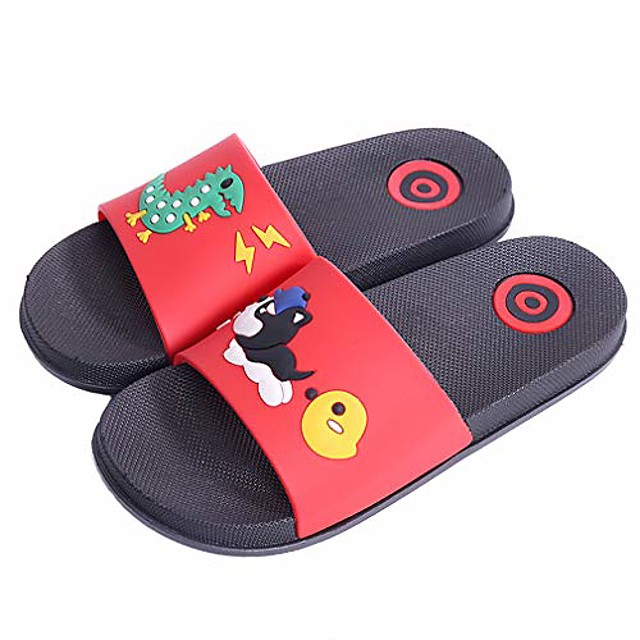 girls boys bath slippers kids lovely beach pool shoes indoor home house sandal anti-slip and quick-drying