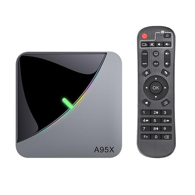 2020 2GB+16GB VONTAR A95X F3 Air 8K RGB Light TV Box Android 9 Amlogic S905X3 16GB Wifi 4K Smart TVBOX Android 9 A95XF3 Set top box