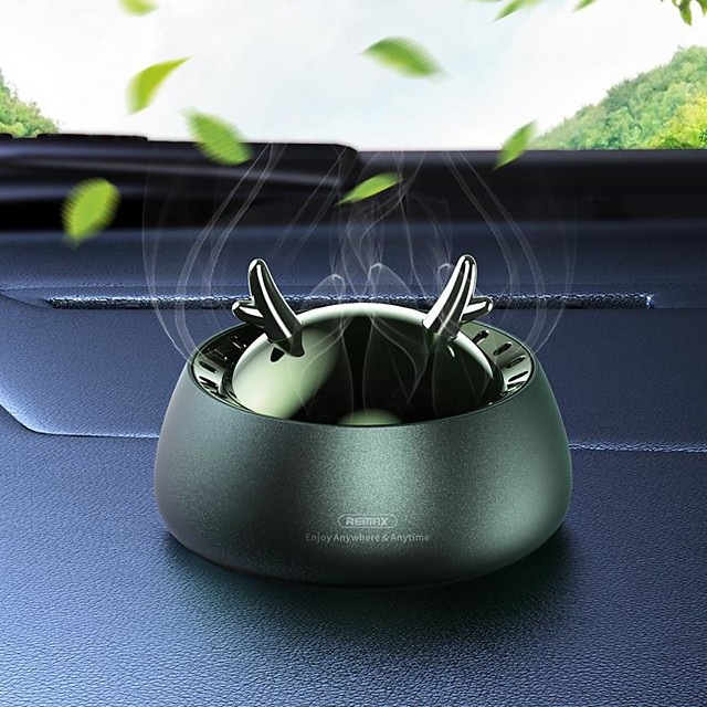 Remax Car Air Purifiers Decoration Car perfume Alloy Aromatic function