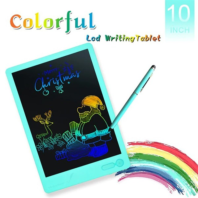 HYD-1003 Portable 10 Inch LCD Writing Tablet Graffiti Drawing Boogie Board Drawing Tablets Digital Drawing Tablet Handwriting Electronic Board