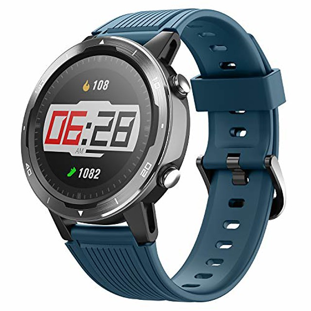 smart watch, gps running watch with blood oxygen monitor, fitness tracker with heart rate monitor, swimming tracking smartwatch with pedometer, calorie counter for women men