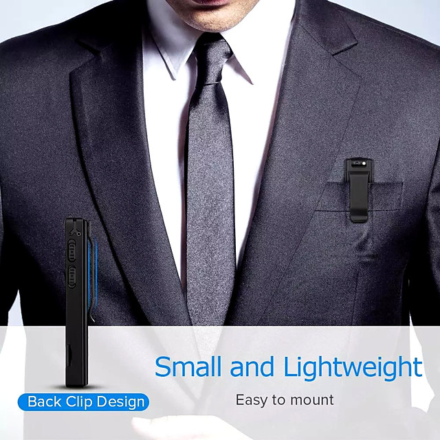 Smart  A3 Body Camera Mini Digital HD Camera Micro Cam Magnetic Motion Snapshot Flashlight Loop Recording Camcorder Video Cam