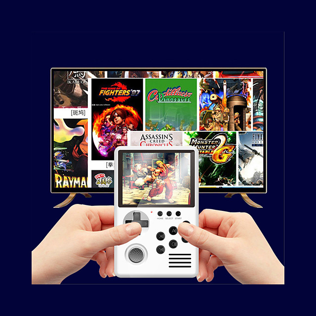 1500+ Games in 1 Handheld Game Player Game Console Rechargeable Mini Handheld Pocket Portable Support TV Output Support TF Card Classic Theme Retro Video Games with 3.0 inch Screen Kid's Adults' Men
