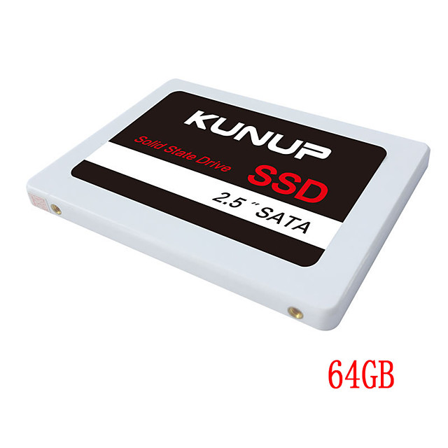 Factory wholesale SSD cheap 64GB internal SATA3 2.5 inch OEM solid state drive white