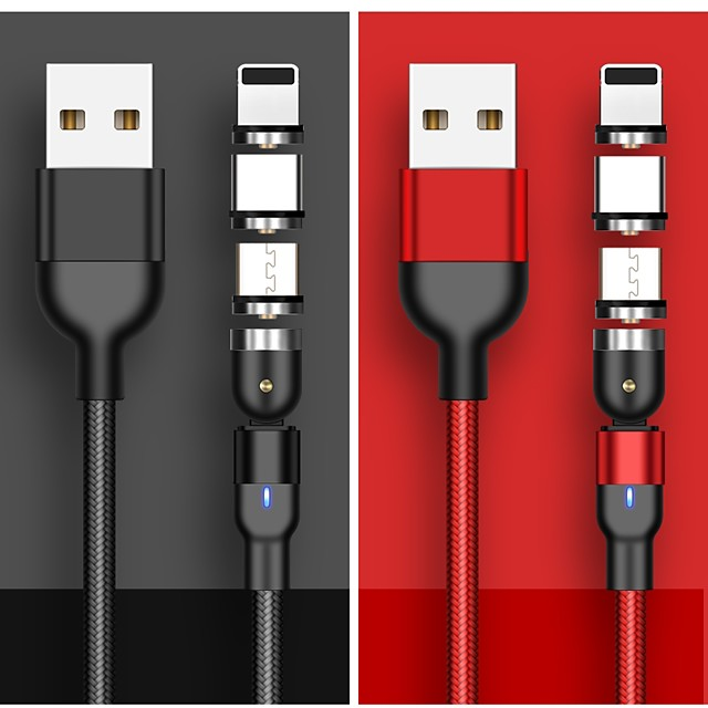 Type-C Cable 3 A 1.0m(3Ft) High Speed / Quick Charge PVC(PolyVinyl Chloride) USB Cable Adapter For Samsung / Huawei / Xiaomi