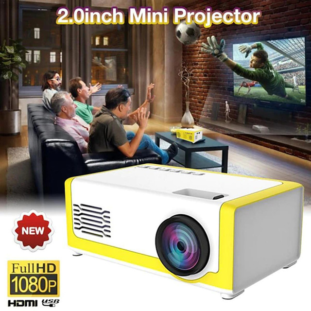 2020 New Children's Mini Projector M1 PK Wireless Portable Entertainment Mobile Phone For Home