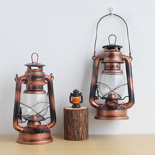 Nostalgic Old Style Retro Decoration Kerosene Lamp Lantern Household Ornament Scene Atmosphere Decoration