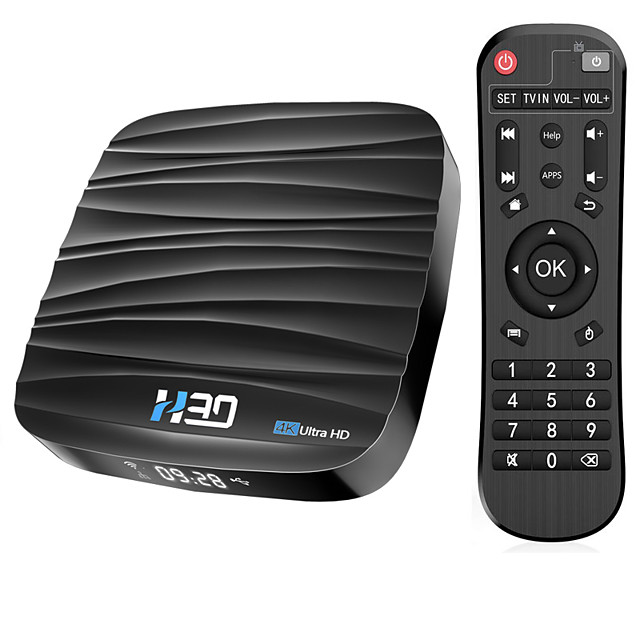 Android TV Box Android 10 32GB 4K H.265 Media Player 3D Video 2.4G 5GHz Wifi Bluetooth RK3318 Smart TV Box Set top box