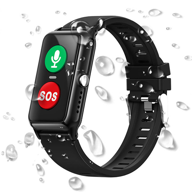 Water-resistant Smart Wristband Support SOS/2G SIM-card/Smart fence/GPS