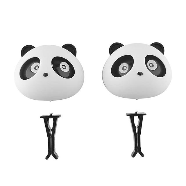 2Pcs Car Perfume Auto Air Freshener Mini Panda For Fiat Viaggio Bravo Freemont FIAT 500 PALIO