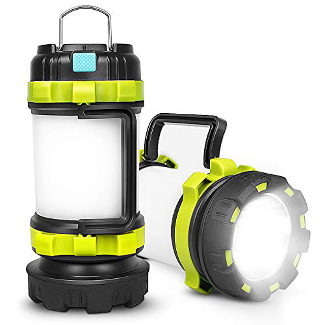 rechargeable camping lantern,camping lights with 800lm,6light modes,3800mah power bank, ipx4 waterproof,perfect for camping light hurricane,emergency,hiking,outdoor(2 pack)