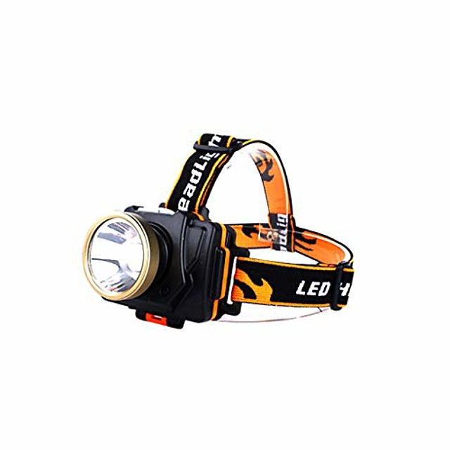 head torch, fishing light searchlight camping emergency light multifunction lanterns waterproof long distance chargeable flashlight (color : #1)