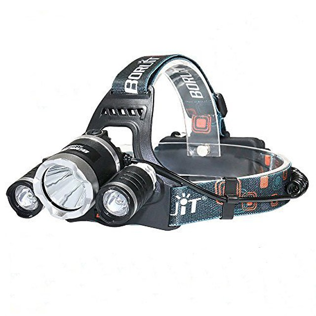led headlight, hiwild rechargeable headlamp necessary diy tool for camping, cycling, running, hiking, caving or indoor workings … (rj3000)