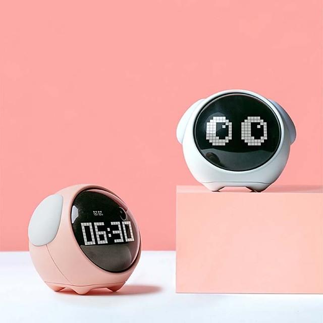 LITBest Smart alarm clock 857587 Silicone White