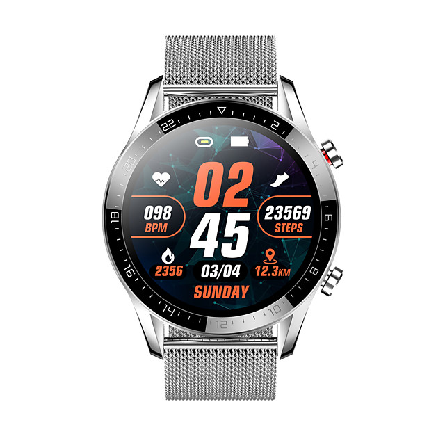 GT05 Smartwatch Support Bluetooth Call/ECG/Heart Rate/Blood Pressure/Blood Oxygen Measure, Water-resistant Sports Tracker for Andorid/IOS Phones