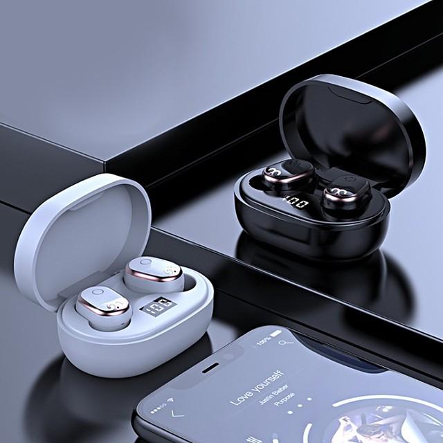 Joyroom JR-TL1 Bluetooth 5.0 Earphones IPX7 Deep Waterproof Sports Headset Fingerprint Touch In Ear Earbuds with Charging Case