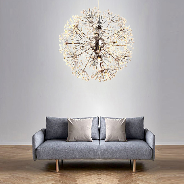 50 cm Single Design Chandelier Metal Modern 110-120V 220-240V