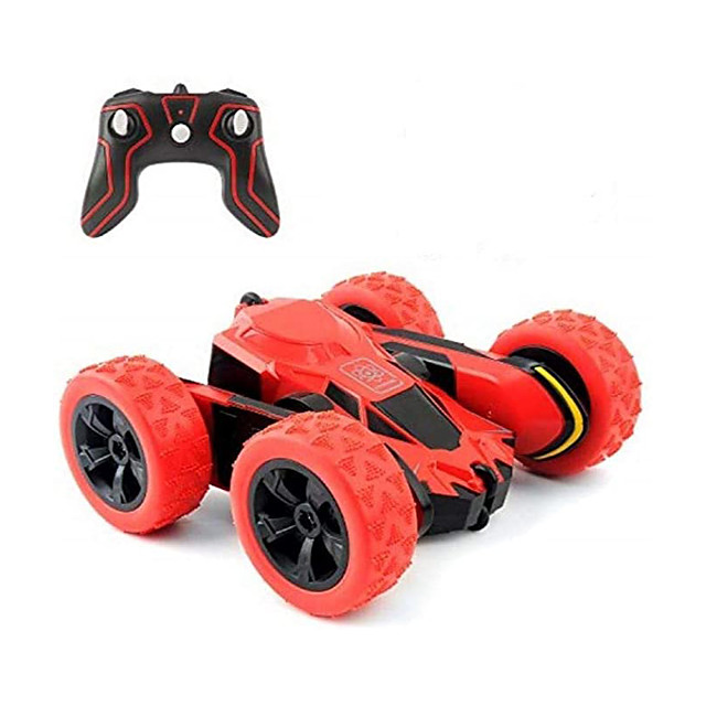 RC Car 2.4G Buggy (Off-road) / Monster Truck Titanfoot / Stunt Car 1:28 Rechargeable / Remote Control / RC / Double Sided Rotating