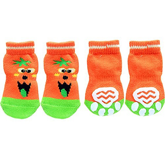sport dog socks , pet boots paw protection (pack of 4)