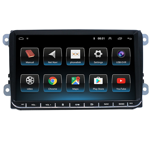 9Inch 2Din 16G 32G Car Radio Stereo Radio GPS Navigation Auto Multimedia Player Touch MP5 Screen for Android