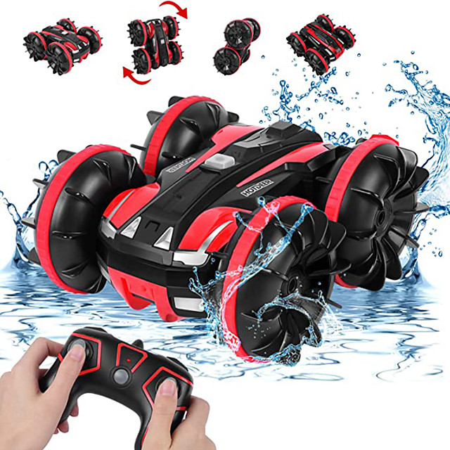 Toy Car Remote Control Car Waterproof Rechargeable 360° Rotation Remote Control / RC 1:20 Buggy (Off-road) Monster Truck Titanfoot Stunt Car 2.4G For Kid's Adults' Gift