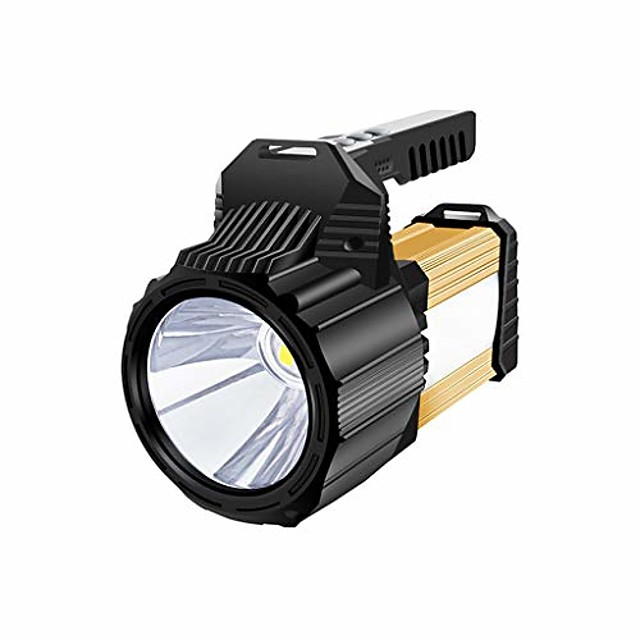 portable rechargeable flashlight portable searchlight multifunctional campinglanterns for work emergency outdoor camping, home lighting reading (size : 3500 lumens)