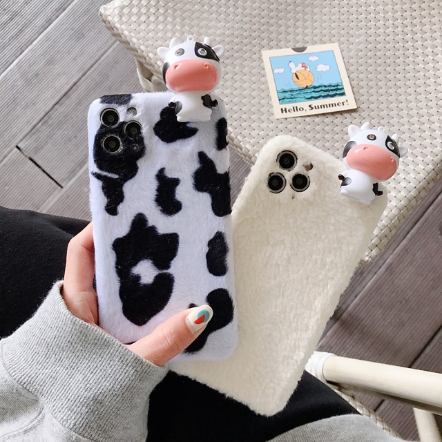 Case For Apple iPhone 12 / iPhone 11 / iPhone 12 Pro Max Shockproof Back Cover Cartoon / Animal TPU