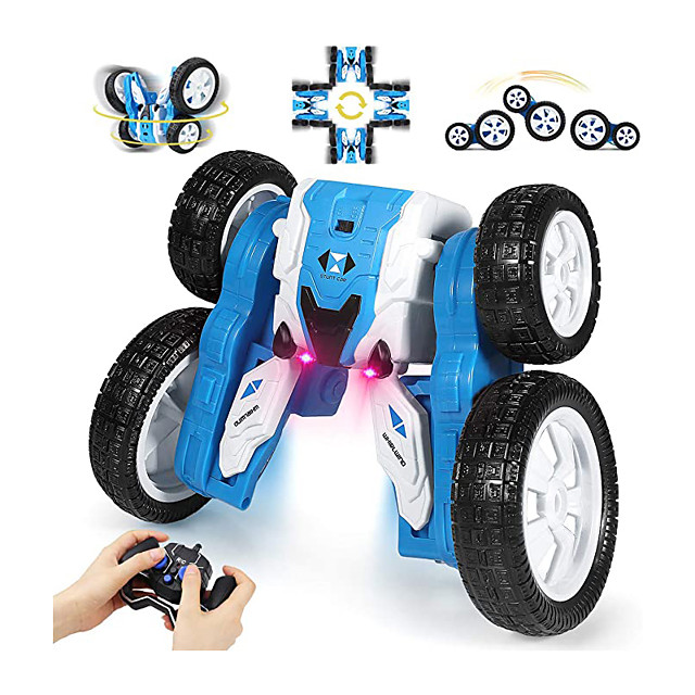 RC Car DW02A 2.4G Buggy (Off-road) / Monster Truck Titanfoot / Stunt Car Waterproof / Rechargeable / 360° Rotation