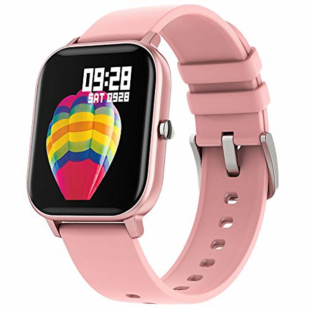 Smart Watch for Android Phone iPhone Compatible, IP67 Waterproof Bluetooth Fitness Tracker Heart Rate Blood Oxygen Pressure Sleep Monitor, Call Message Reminder Pedometer Calorie Counter for Men Women