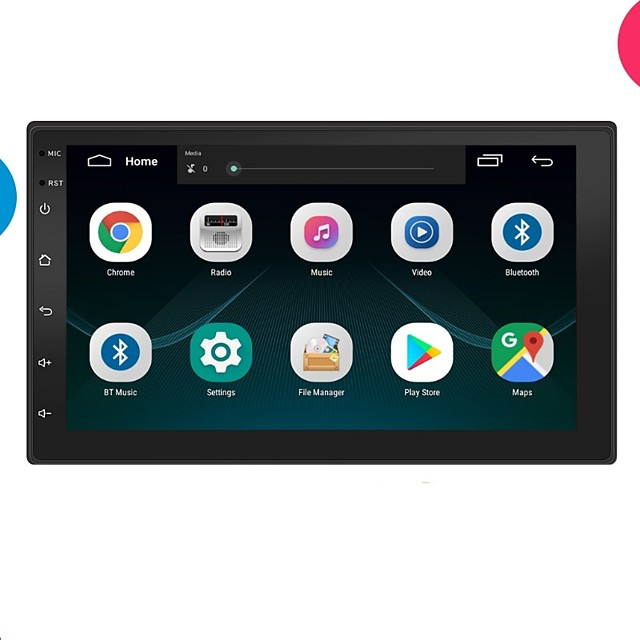 7 Inch Car Radio 2 Din Car Multimedia MP5 Player Android Parktronic Display Autoradio Bluetooth Truck GPS Navigation Car Radio MP5 Camera Rear