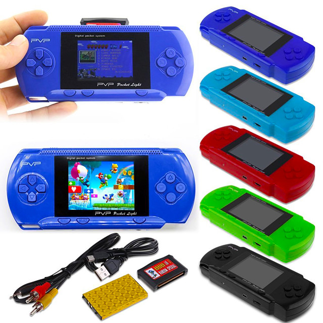 268 Games in 1 Handheld Game Player Game Console Mini Handheld Pocket Portable Classic Theme Retro Video Games with 2 inch Screen Kid's Adults' Boys' Girls' 1 pcs Toy Gift