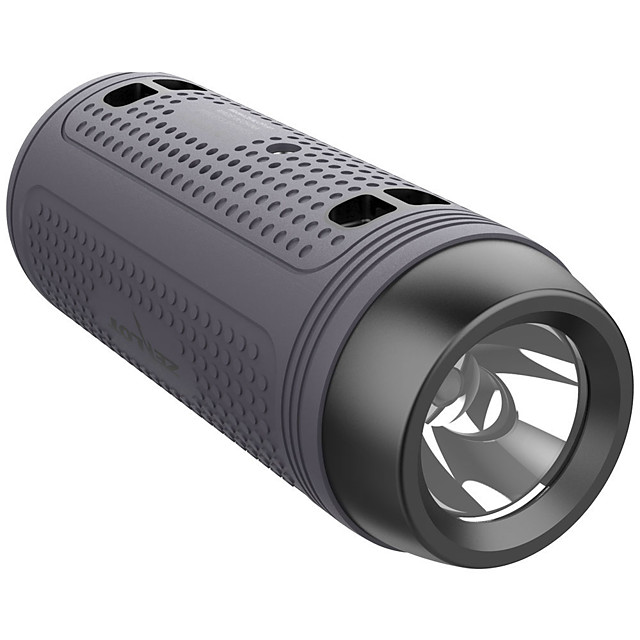 New Zealot A1 Bluetooth Speaker Portable Wireless Bike SpeakerFlashlightShoulder Strap Support TF cardAUXUSB Flash Drive