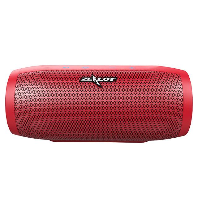 ZEALOT S16 Bluetooth Speaker Portable Wireless Speaker Column Bass Subwoofer Speaker with Mic Support TWSTF CardAUXPower Bank