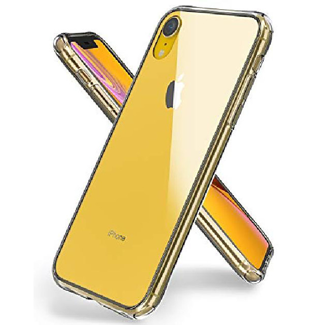 iphone xr case,oretech iphone xr phone case transparent clear tempered glass back case with soft tpu edge protective heavy duty case anti scratch cases for iphone xr phone case - clear -6.1